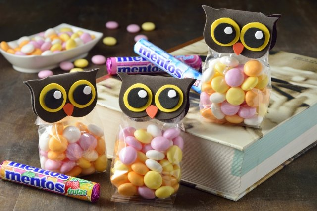 Recipe of How to make original candy pouches