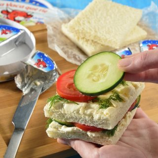 Cucumber Sandwiches with Dill