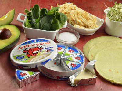 IngredientesWrap Saludable