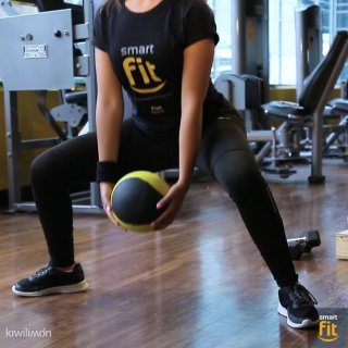 Leg routine for women