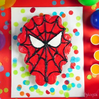 Spiderman Cupcakes Cake
