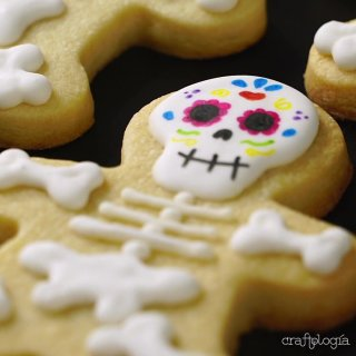Calaverita cookies