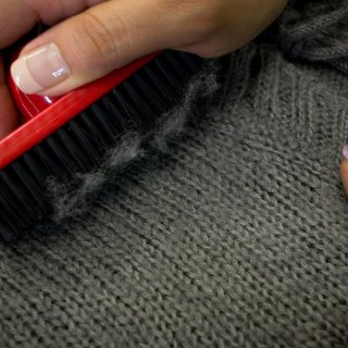 How to remove beads from sweaters