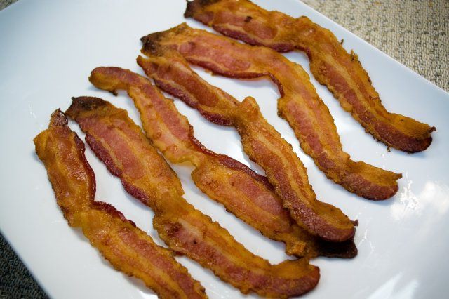 Recipe of How to make bacon in the oven