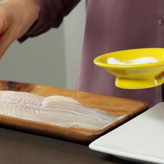 How to bake fish as a restaurant