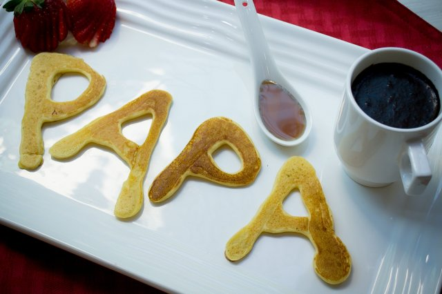 Recipe of How to make special hot cakes for dad
