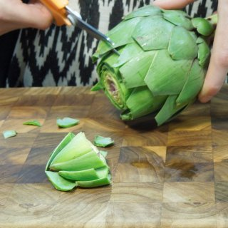 How to prepare artichoke easily