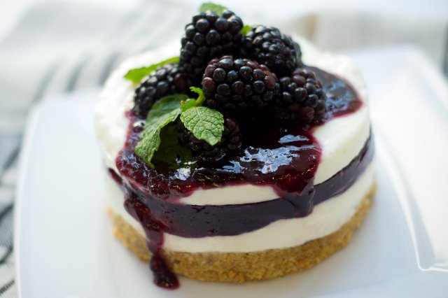 Recipe of How to make blackberry mousse