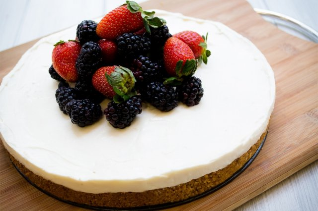 Recipe of How to make cheesecake without oven