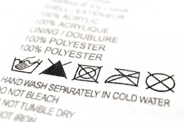 Recipe of What do the symbols on clothing labels mean?