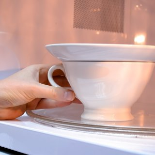 cover the cup and put the microHow to make poached egg in a microwave