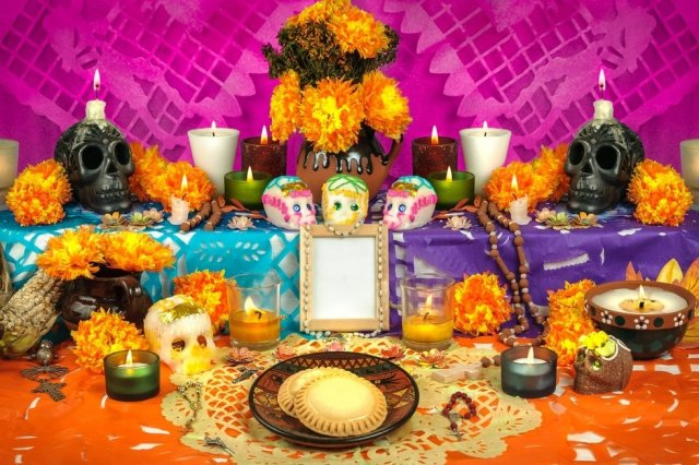 Recipe of How to make an altar for the dead