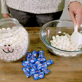 How to make a bunny candy for Easter
