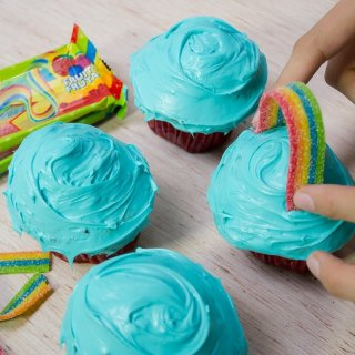 How to decorate cupcakes in 5 minutes