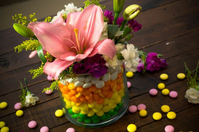 Recipe of How to make a Centerpiece with Sweets